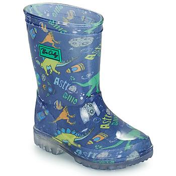 Παπούτσια Αγόρι Μπότες βροχής Be Only DINO FLASH Μπλέ / Green