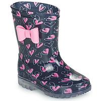 Παπούτσια Κορίτσι Μπότες βροχής Be Only LOVANA FLASH Ροζ / Marine