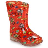 Παπούτσια Αγόρι Μπότες βροχής Be Only CYBORG Red