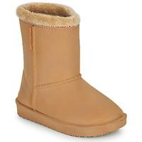 Παπούτσια Κορίτσι Μπότες βροχής Be Only COSY Beige