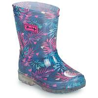 Παπούτσια Κορίτσι Μπότες βροχής Be Only BINTOU Μπλέ / Ροζ