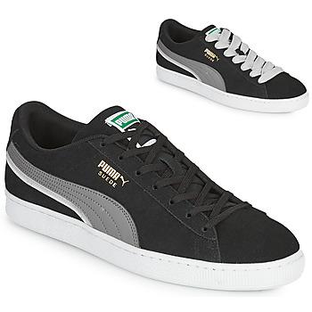 Παπούτσια Άνδρας Χαμηλά Sneakers Puma SUEDE TRIPLEX Black / Grey