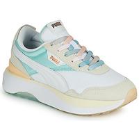 Παπούτσια Γυναίκα Χαμηλά Sneakers Puma CRUISE RIDER Άσπρο / Multicolour