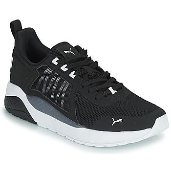 Παπούτσια Αγόρι Χαμηλά Sneakers Puma ANZARUN JR Black / Άσπρο