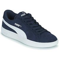 Παπούτσια Παιδί Χαμηλά Sneakers Puma SMASH JR Μπλέ