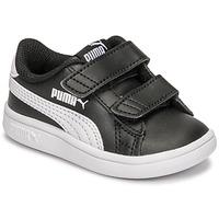 Παπούτσια Παιδί Χαμηλά Sneakers Puma SMASH INF Black / Άσπρο