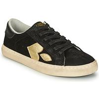 Παπούτσια Γυναίκα Χαμηλά Sneakers Le Temps des Cerises AUSTIN Black / Gold