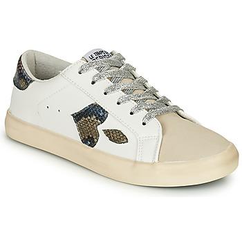 Παπούτσια Γυναίκα Χαμηλά Sneakers Le Temps des Cerises AUSTIN Άσπρο