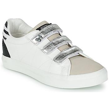 Παπούτσια Γυναίκα Χαμηλά Sneakers Le Temps des Cerises VIC Άσπρο / Silver