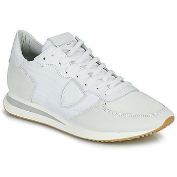 Παπούτσια Άνδρας Χαμηλά Sneakers Philippe Model TRPX LOW BASIC Άσπρο