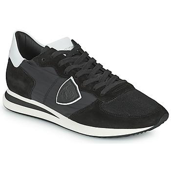 Παπούτσια Άνδρας Χαμηλά Sneakers Philippe Model TRPX LOW BASIC Black