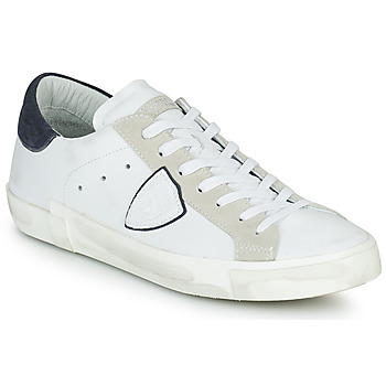 Παπούτσια Άνδρας Χαμηλά Sneakers Philippe Model PRSX LOW MAN Άσπρο
