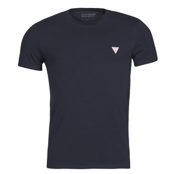Υφασμάτινα Άνδρας T-shirt με κοντά μανίκια Guess CN SS CORE TEE Marine