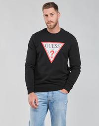 Υφασμάτινα Άνδρας Φούτερ Guess AUDLEY CN FLEECE Black