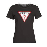 Υφασμάτινα Γυναίκα T-shirt με κοντά μανίκια Guess SS CN ORIGINAL TEE Black