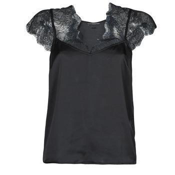 Υφασμάτινα Γυναίκα Μπλούζες Guess SS MIRANDA TOP Black