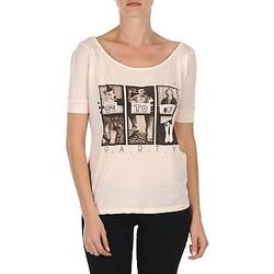 Υφασμάτινα Γυναίκα T-shirt με κοντά μανίκια Bench CREEPTOWN ροζ