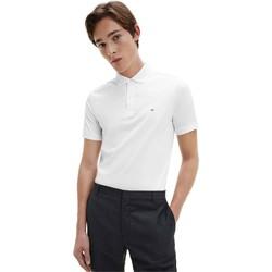Υφασμάτινα Άνδρας Πόλο με κοντά μανίκια  Calvin Klein Jeans K10K107090 λευκό