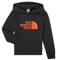 Υφασμάτινα Αγόρι Φούτερ The North Face DREW PEAK HOODIE Black