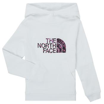 Υφασμάτινα Κορίτσι Φούτερ The North Face DREW PEAK HOODIE Άσπρο