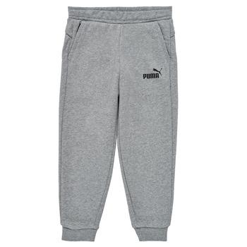 Υφασμάτινα Αγόρι Φόρμες Puma ESSENTIAL SLIM PANT Grey