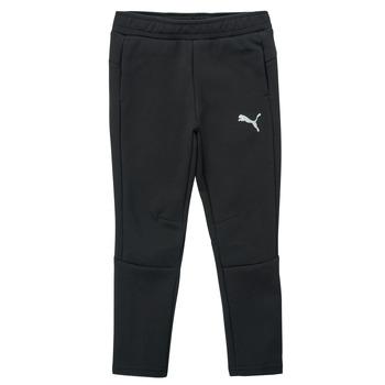 Υφασμάτινα Αγόρι Φόρμες Puma EVOSTRIPE PANT Black