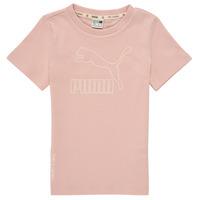 Υφασμάτινα Κορίτσι T-shirt με κοντά μανίκια Puma T4C TEE Ροζ