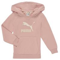Υφασμάτινα Κορίτσι Φούτερ Puma T4C HOODIE Ροζ