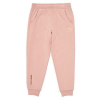 Υφασμάτινα Κορίτσι Φόρμες Puma T4C SWEATPANT Ροζ