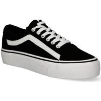 Παπούτσια Γυναίκα Χαμηλά Sneakers Luna Collection 55259 black