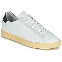 Παπούτσια Άνδρας Χαμηλά Sneakers Clae BRADLEY CALIFORNIA Άσπρο / Μπλέ