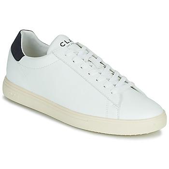Παπούτσια Χαμηλά Sneakers Clae BRADLEY VEGAN Άσπρο / Μπλέ