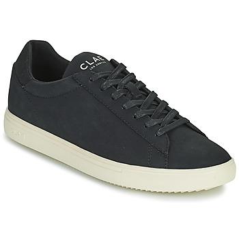 Παπούτσια Άνδρας Χαμηλά Sneakers Clae BRADLEY VEGAN Black / Άσπρο