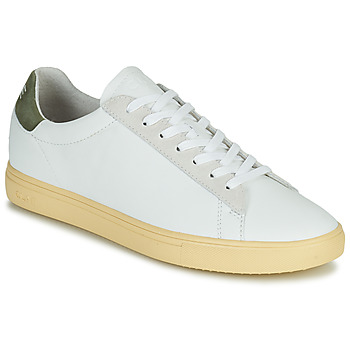 Παπούτσια Άνδρας Χαμηλά Sneakers Clae BRADLEY CALIFORNIA Άσπρο / Green