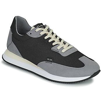 Παπούτσια Άνδρας Χαμηλά Sneakers Clae RUNYON Black / Grey