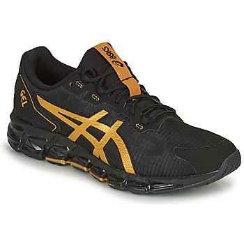 Παπούτσια Άνδρας Χαμηλά Sneakers Asics GEL-QUANTUM 360 6 Black / Gold