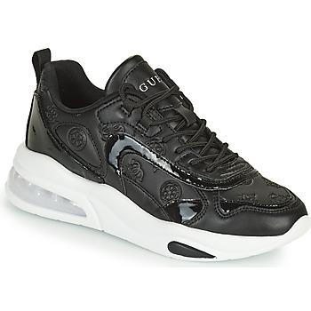 Παπούτσια Γυναίκα Χαμηλά Sneakers Guess FEVER3 Black