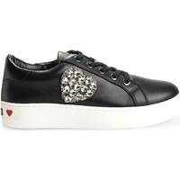 Παπούτσια Γυναίκα Χαμηλά Sneakers Love Moschino  Black