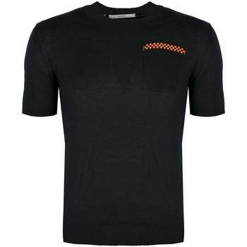 Υφασμάτινα Άνδρας T-shirt με κοντά μανίκια Takeshy Kurosawa  Black