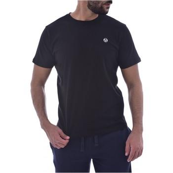 Υφασμάτινα Άνδρας T-shirt με κοντά μανίκια Sergio Tacchini 103.10007-SS T-SHIRT ICONIC Black