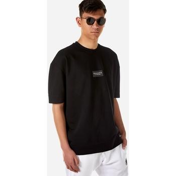 Υφασμάτινα Άνδρας T-shirt με κοντά μανίκια Brokers ΑΝΔΡΙΚΟ ΦΟΥΤΕΡ Μαύρο