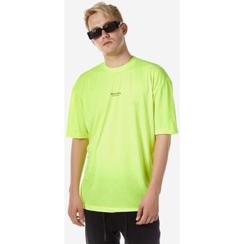 Υφασμάτινα Άνδρας T-shirt με κοντά μανίκια Brokers ΑΝΔΡΙΚΟ T-SHIRT Κίτρινο