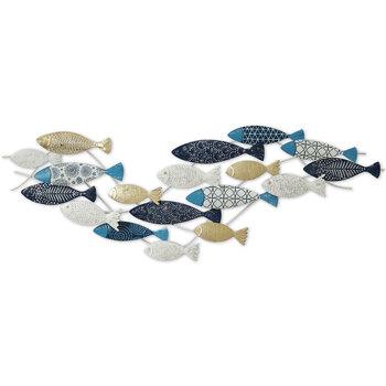 Σπίτι Εορταστικά διακοσμητικά Signes Grimalt Ψάρια Μοτίβο Wall Azul