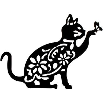 Σπίτι Πίνακες Signes Grimalt Wall Στολίδι Cat Negro