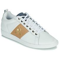 Παπούτσια Άνδρας Χαμηλά Sneakers Le Coq Sportif COURTCLASSIC Άσπρο / Tan