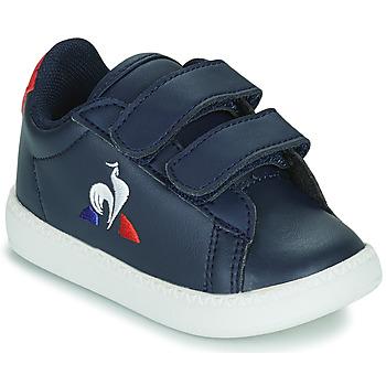 Παπούτσια Παιδί Χαμηλά Sneakers Le Coq Sportif COURTSET INF Μπλέ