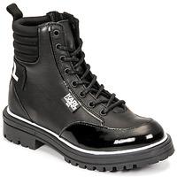 Παπούτσια Κορίτσι Μπότες για την πόλη Karl Lagerfeld HOLISTA Black