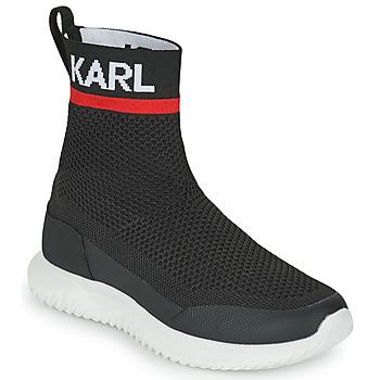 Παπούτσια Αγόρι Ψηλά Sneakers Karl Lagerfeld PELINDRA Black