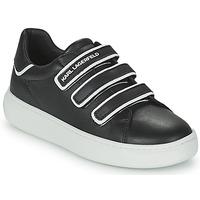 Παπούτσια Παιδί Χαμηλά Sneakers Karl Lagerfeld GOLINDA Black