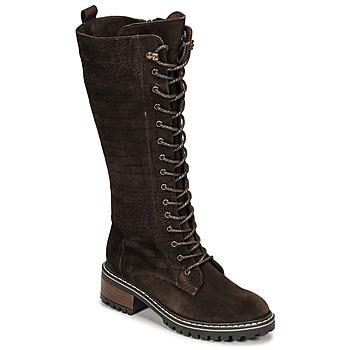 Παπούτσια Γυναίκα Μπότες για την πόλη Elue par nous KOFOUR Brown